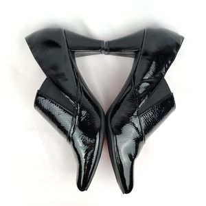 """Tradition """"Tommy"""" Black Leather Ankle Booties Sz 6"""